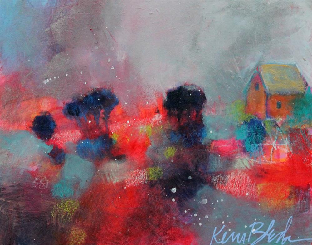 """Soft Shadows "" original fine art by Kerri Blackman"