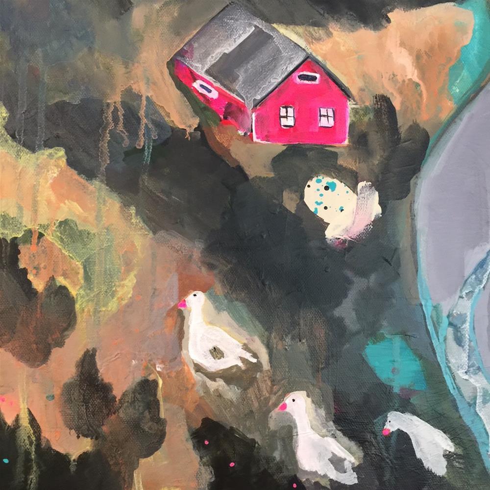 """183 Life is Beautiful"" original fine art by Jenny Doh"