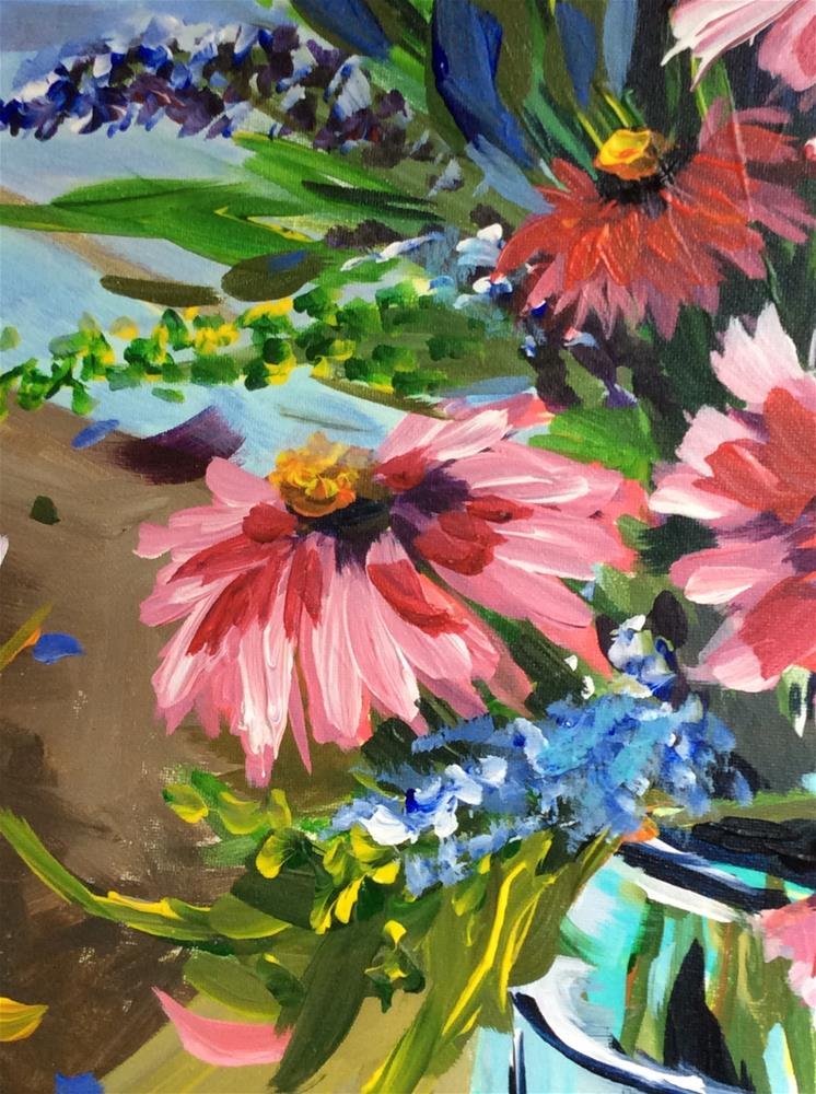 """Garden Gems"" original fine art by Molly Rohrscheib Hathaway"