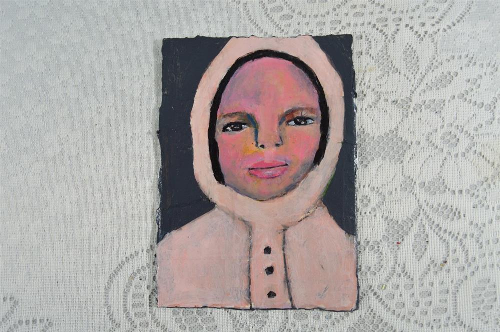 """""""Pink Coat"""" original fine art by Katie Jeanne Wood"""