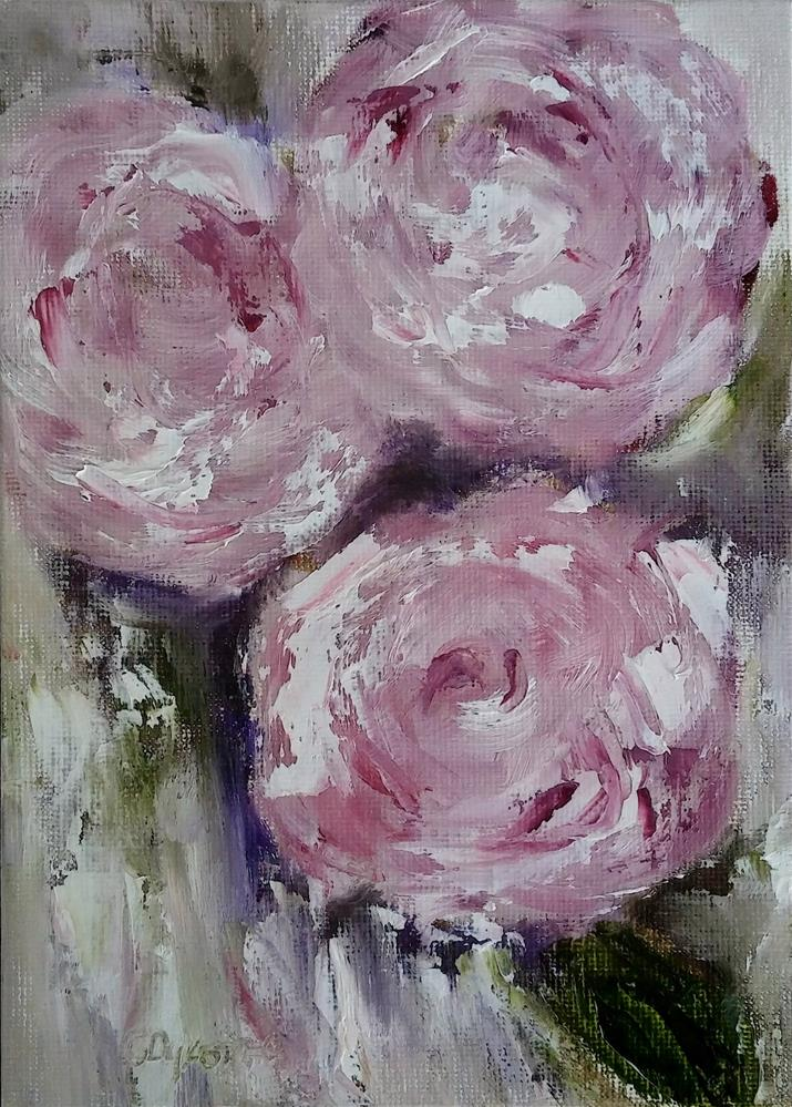 """Be Mine"" original fine art by Cathy Dykstra"