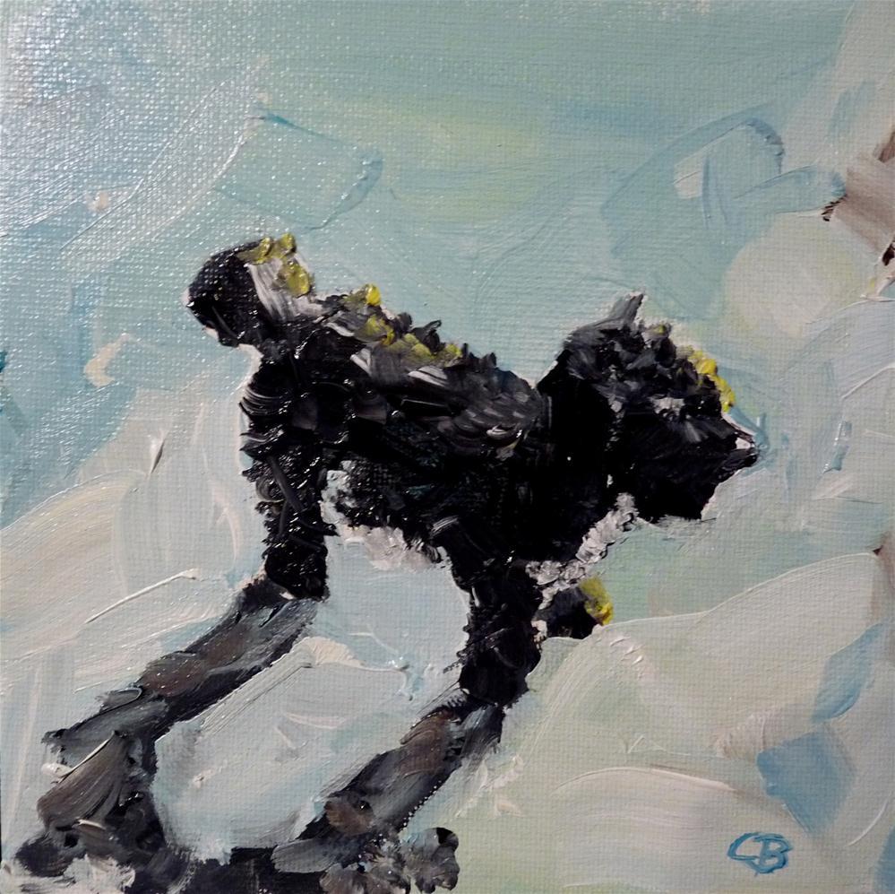 """Dog"" original fine art by Claudia Brandt"