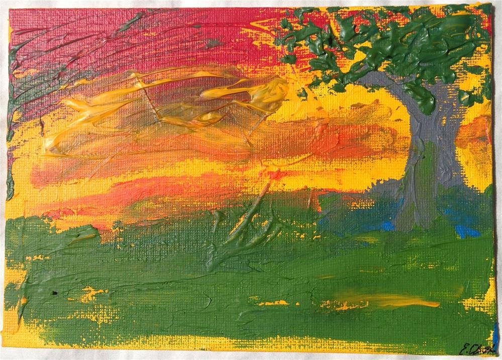 """Eden Set"" original fine art by Ellis Charles Hoffmeister"