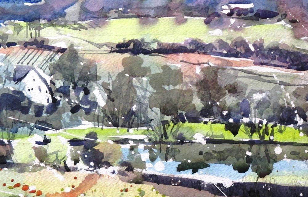 """Latimore Valley Morning by Larry Lerew 160906"" original fine art by Larry Lerew"