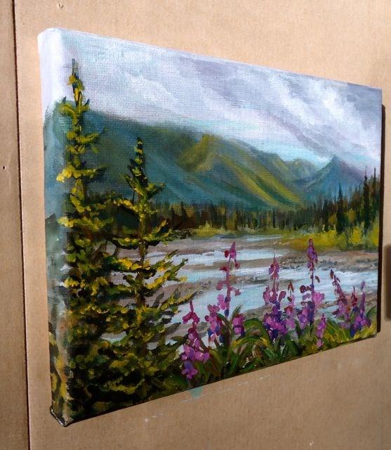 """Haines, Alaska"" original fine art by Jackie Irvine"