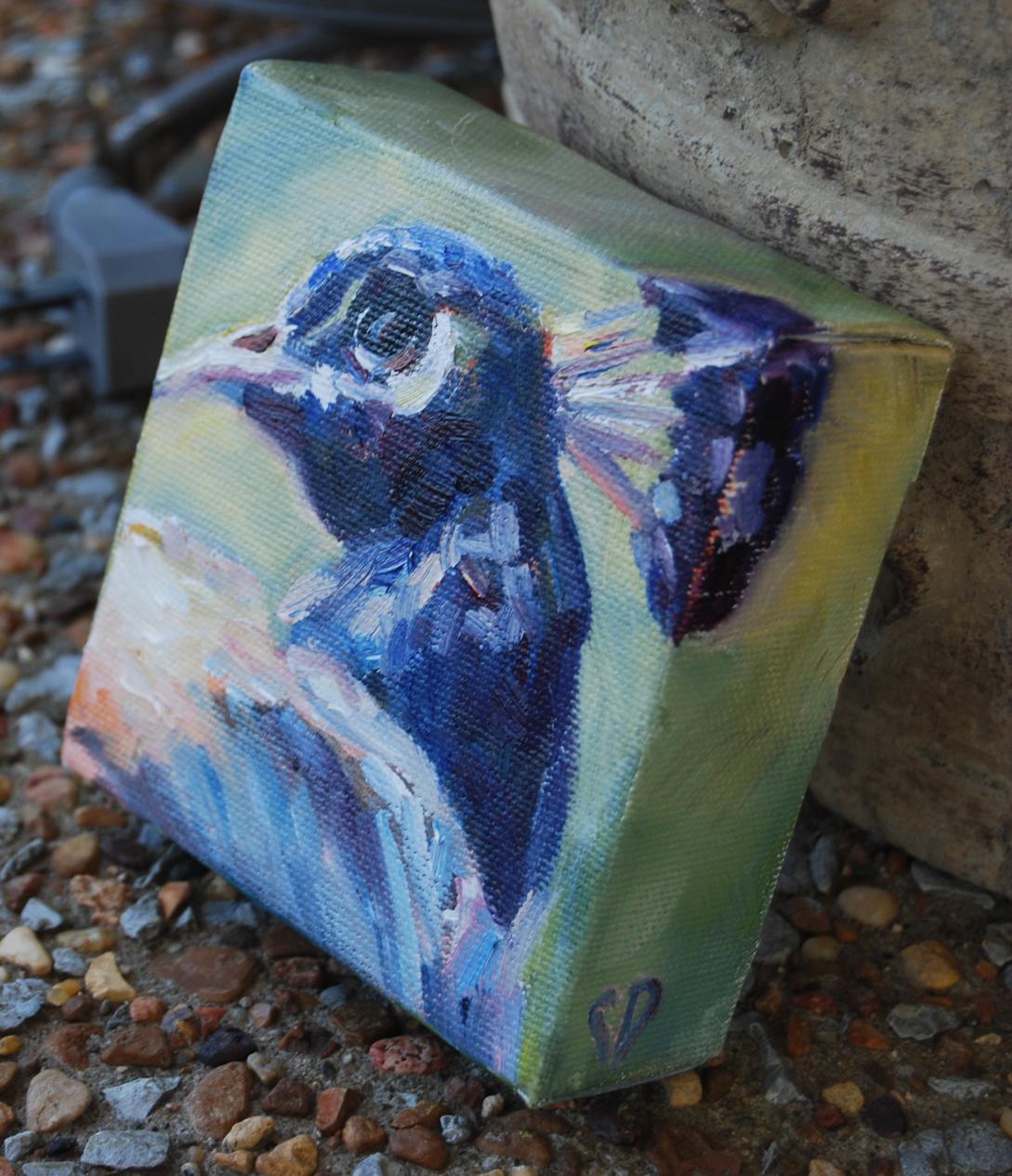 """Beauty Beyond Words"" original fine art by Carol DeMumbrum"