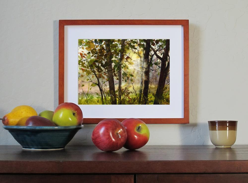 """Morning Light"" original fine art by Linda Henry"