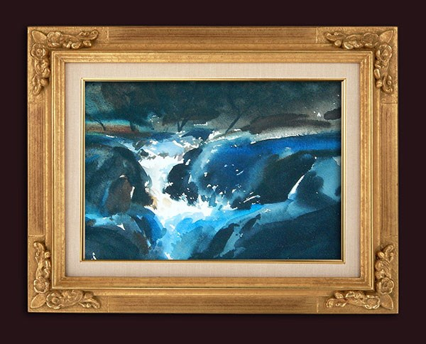 """""""Midnight Sonata"""" original fine art by Stephen Ravenscraft"""