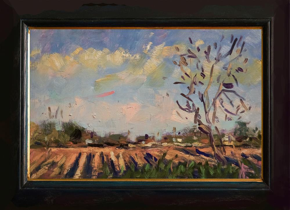 """Field near Yapton"" original fine art by Andre Pallat"