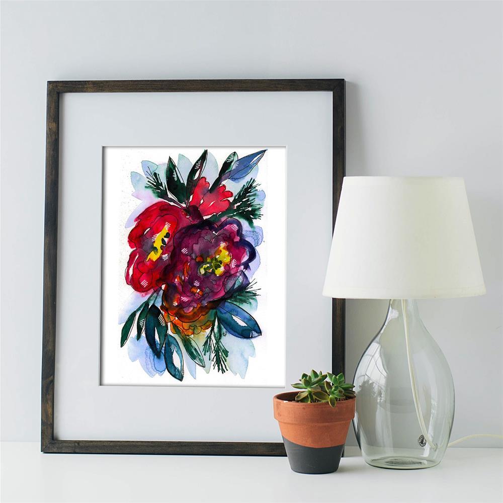 """""""Senioritas"""" original fine art by Tonya Doughty"""