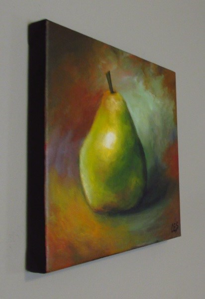 """A Pear For You"" original fine art by ~ces~ Christine E. S. Code"