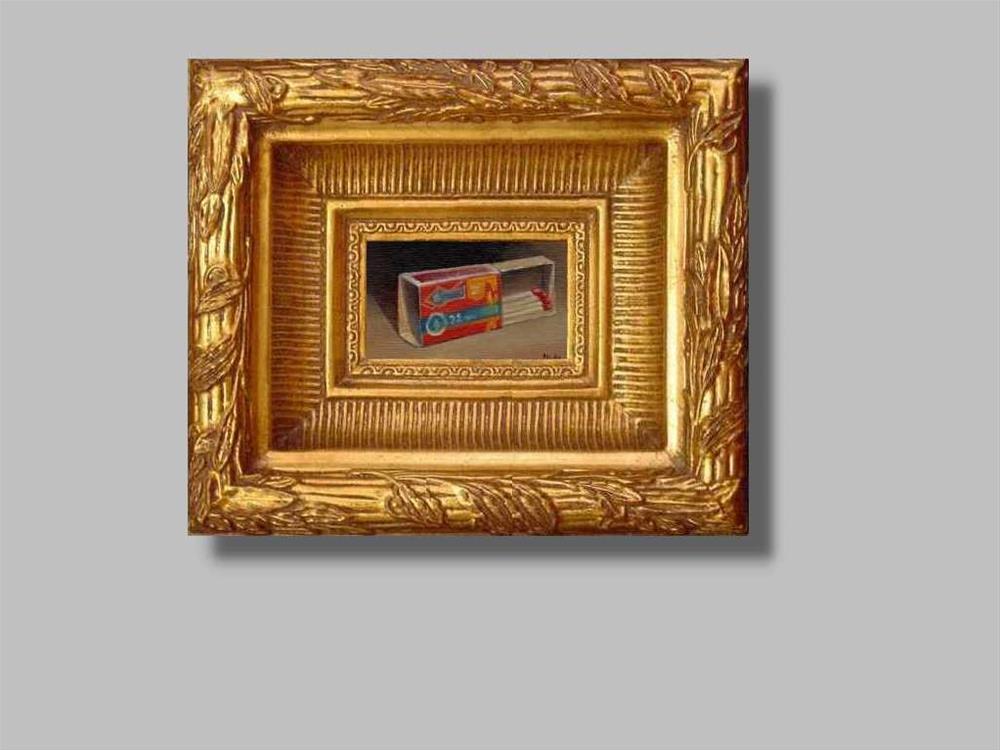 """matches"" original fine art by Vova DeBak"