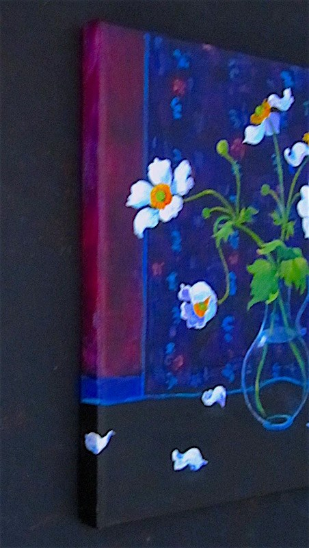 """Japanese Anemones"" original fine art by Patricia Musgrave"