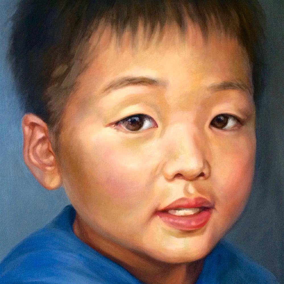 """Artist's Son: Priceless"" original fine art by Shineh Kim Yoon"