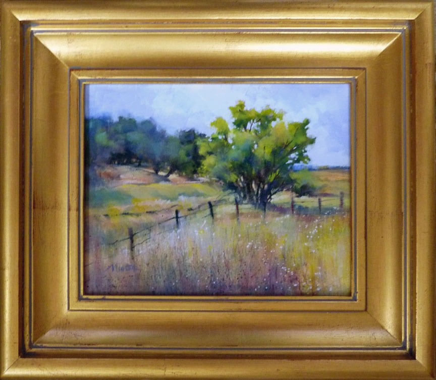 """Oil Study 9"" original fine art by Barbara Benedetti Newton"