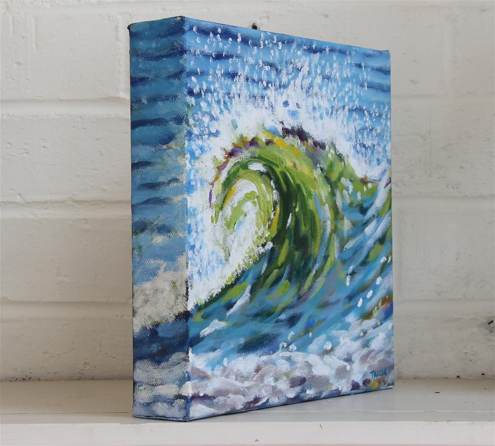 """Surf's Up"" original fine art by Tricia Granzier"