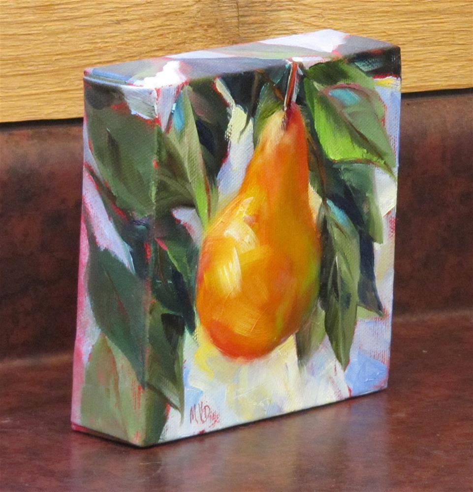 """Pear Tree"" original fine art by Mary  Van Deman"
