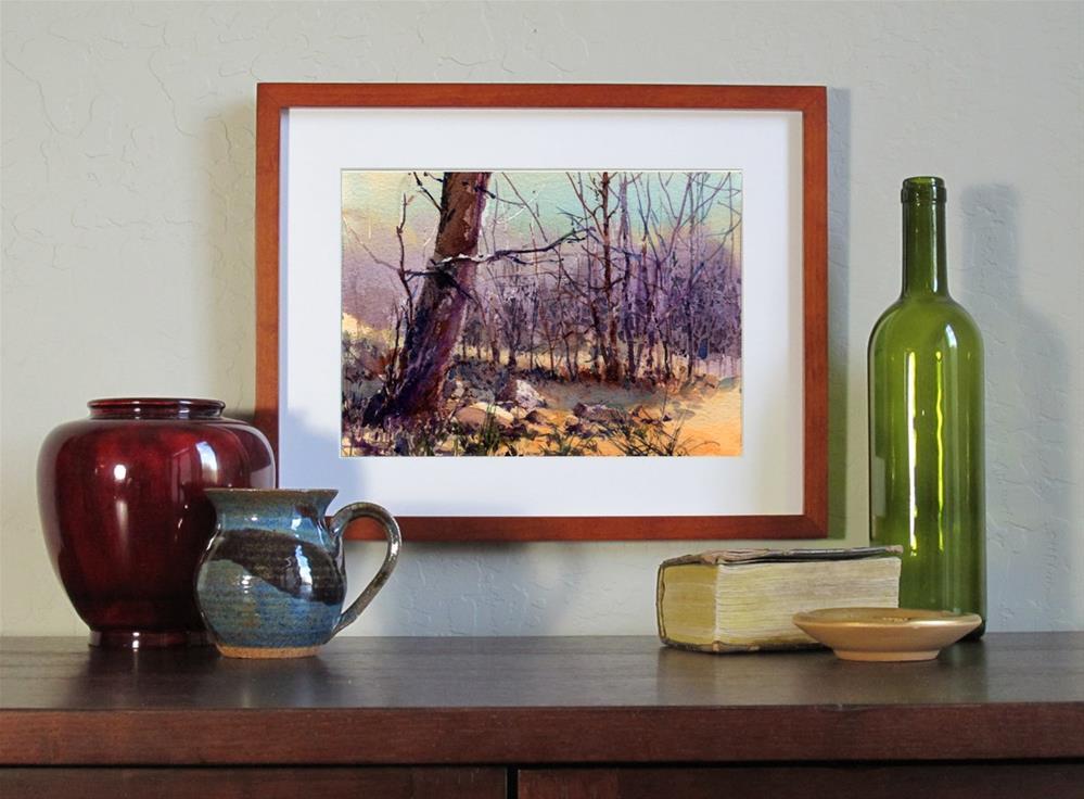 """November"" original fine art by Linda Henry"