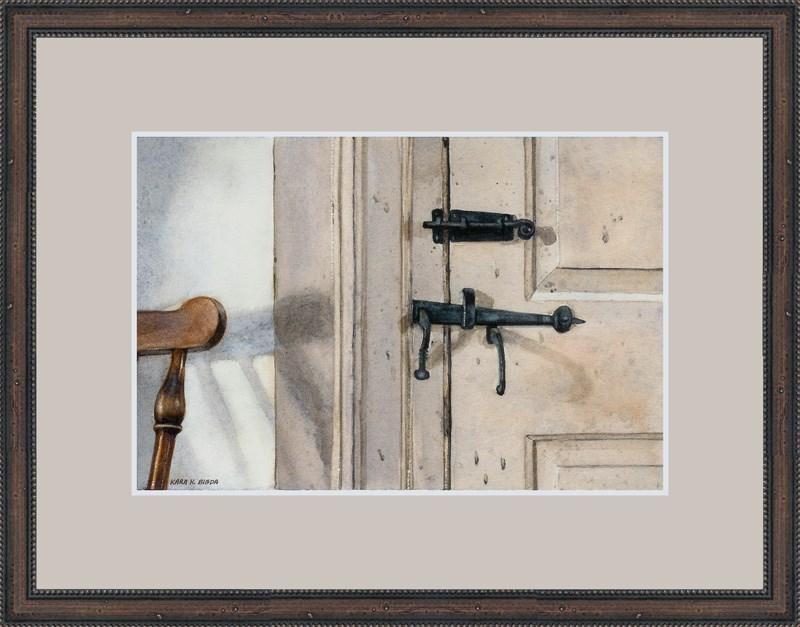 """The Latch"" original fine art by Kara K. Bigda"