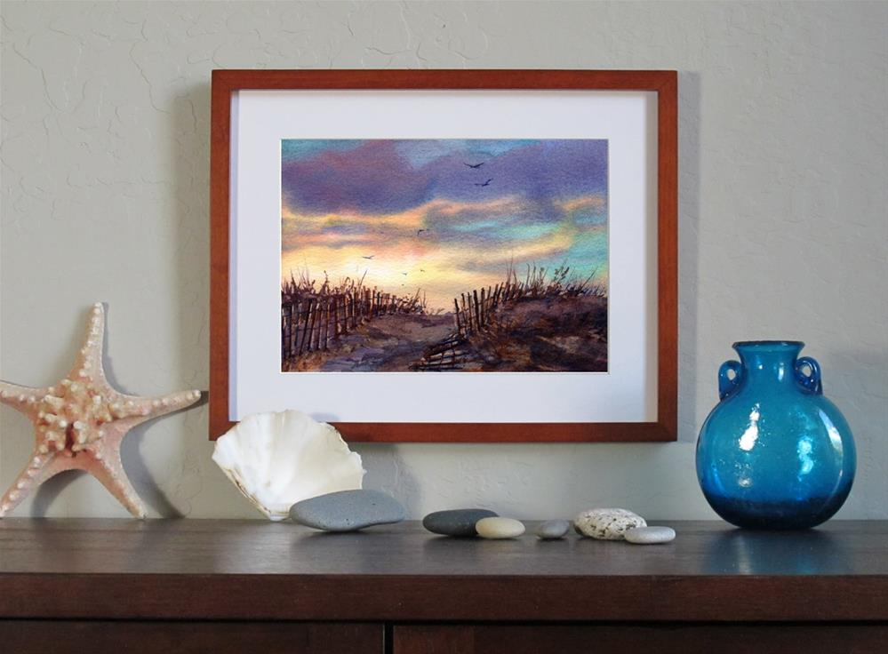 """The Last Light of Summer"" original fine art by Linda Henry"