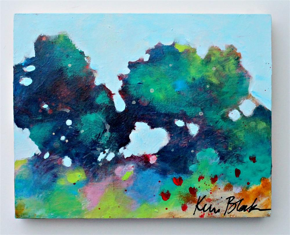 """Summer Trees "" original fine art by Kerri Blackman"