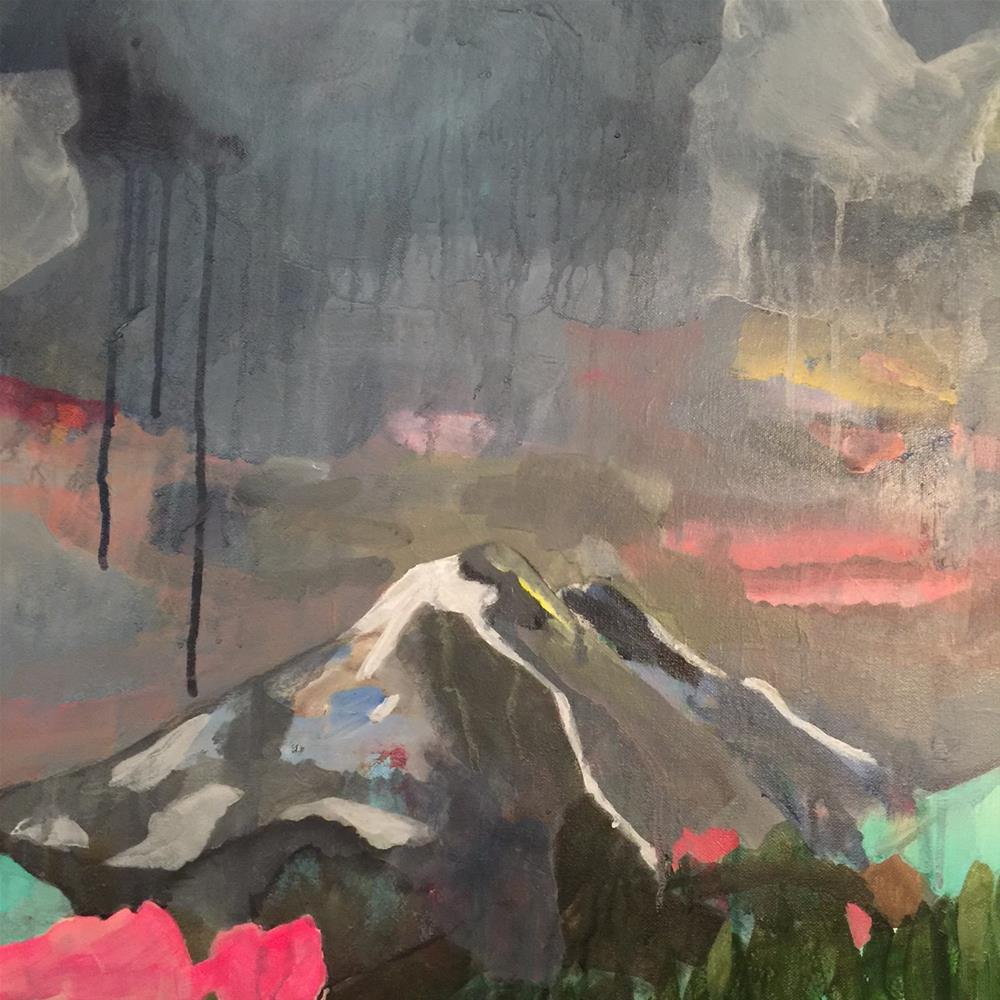 """184 I've Been to the Mountaintop"" original fine art by Jenny Doh"