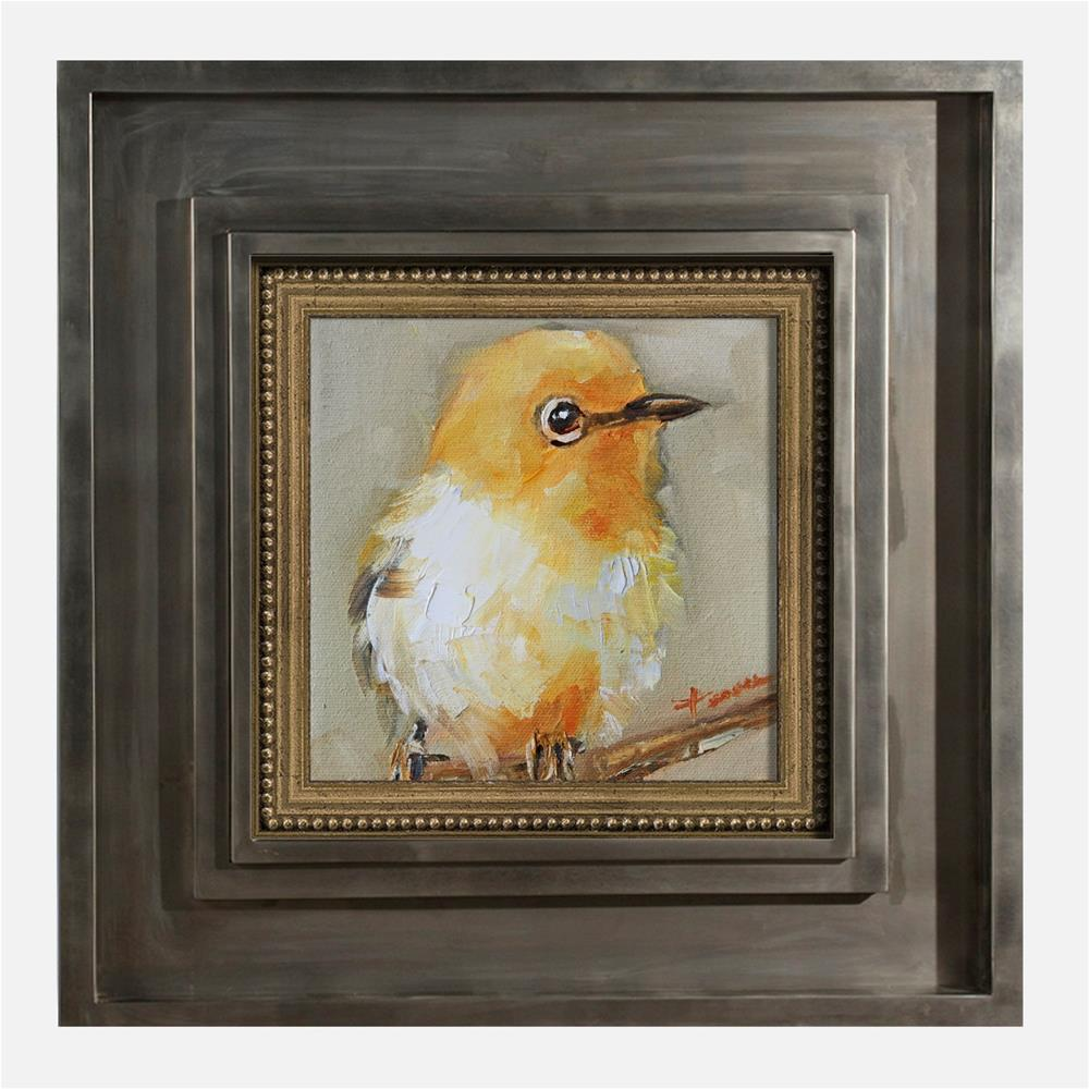 """Bird-01"" original fine art by Teresa Yoo"