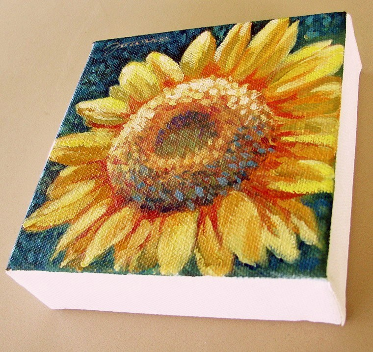"""Sunflower-2"" original fine art by Joanna Bingham"