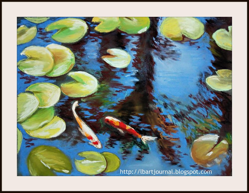 """The Sunny Pond"" original fine art by Laura B."