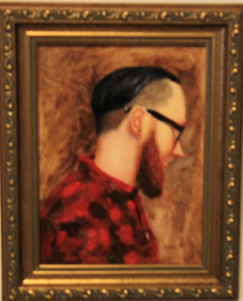 """Portrait of Brandon"" original fine art by Daniel Varney"