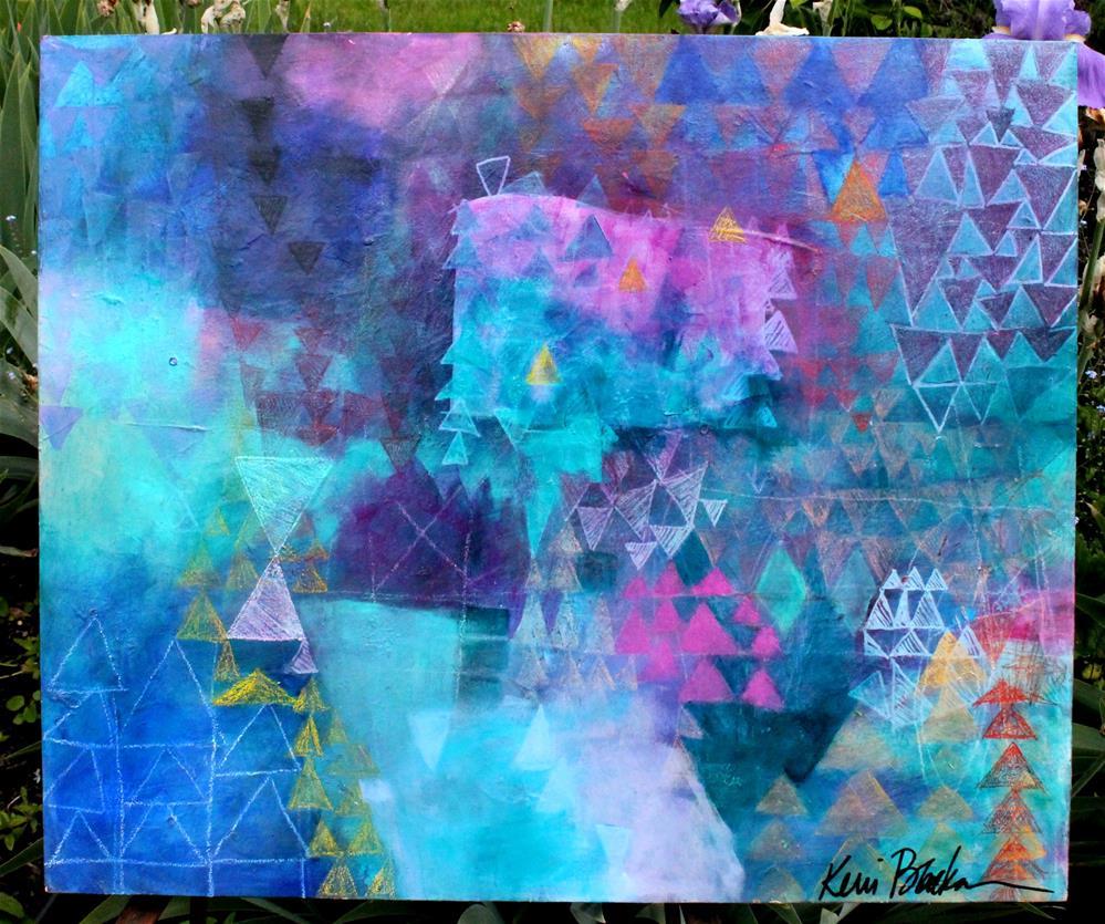 """Just Before Creation"" original fine art by Kerri Blackman"