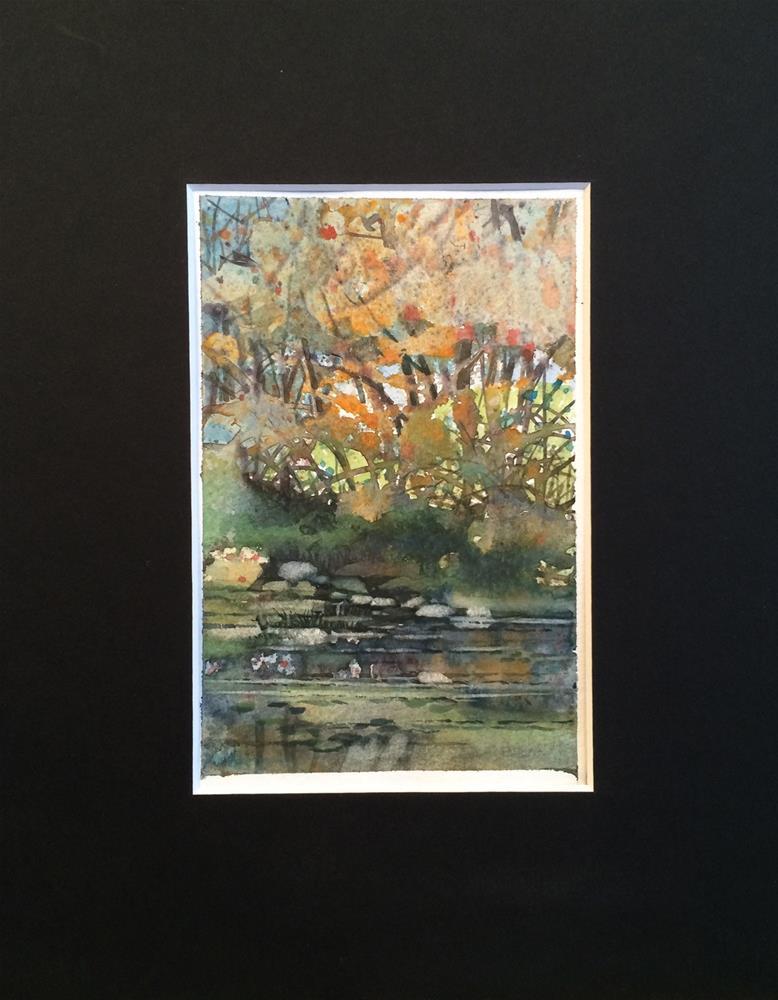 """Creekside"" original fine art by Beatrix Pearl"