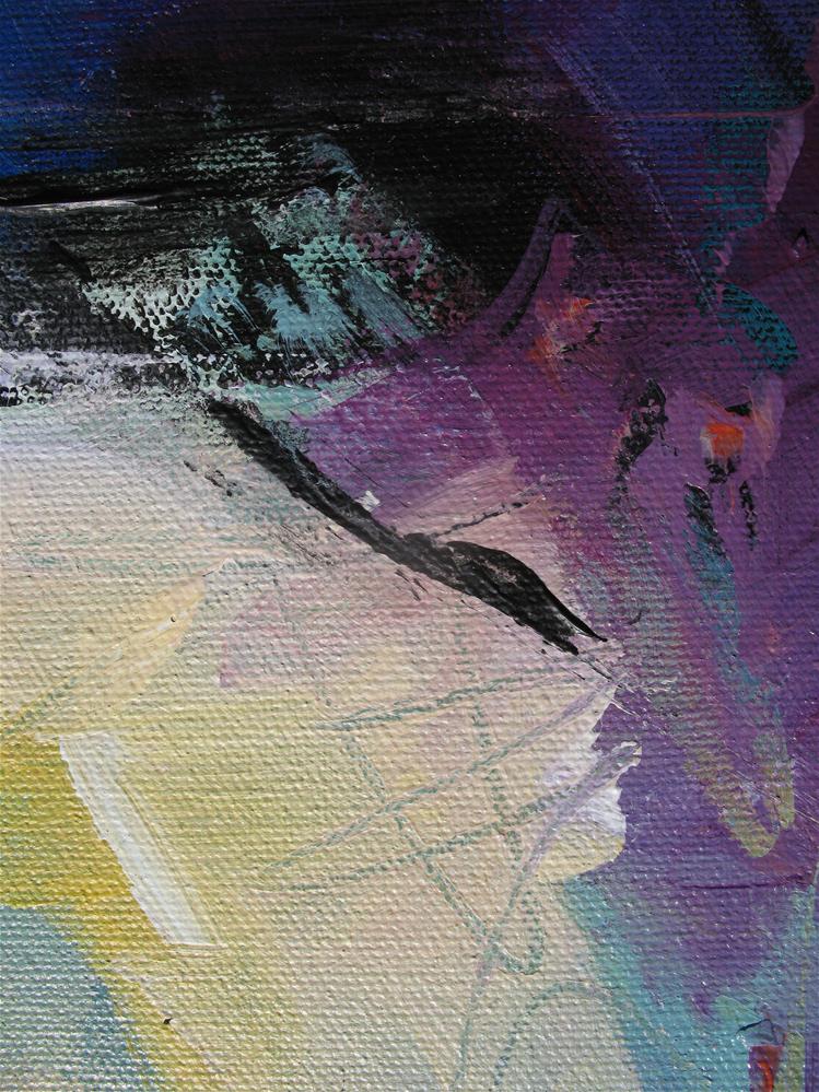 """Blue Tomorrow"" original fine art by Karen Hale"