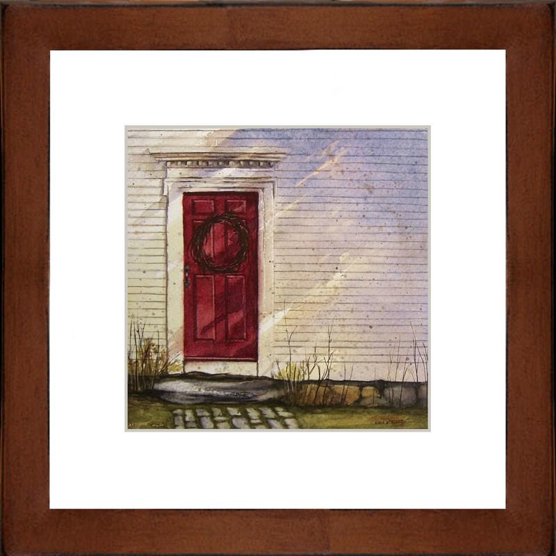 """Side Door Simplicity"" original fine art by Kara K. Bigda"