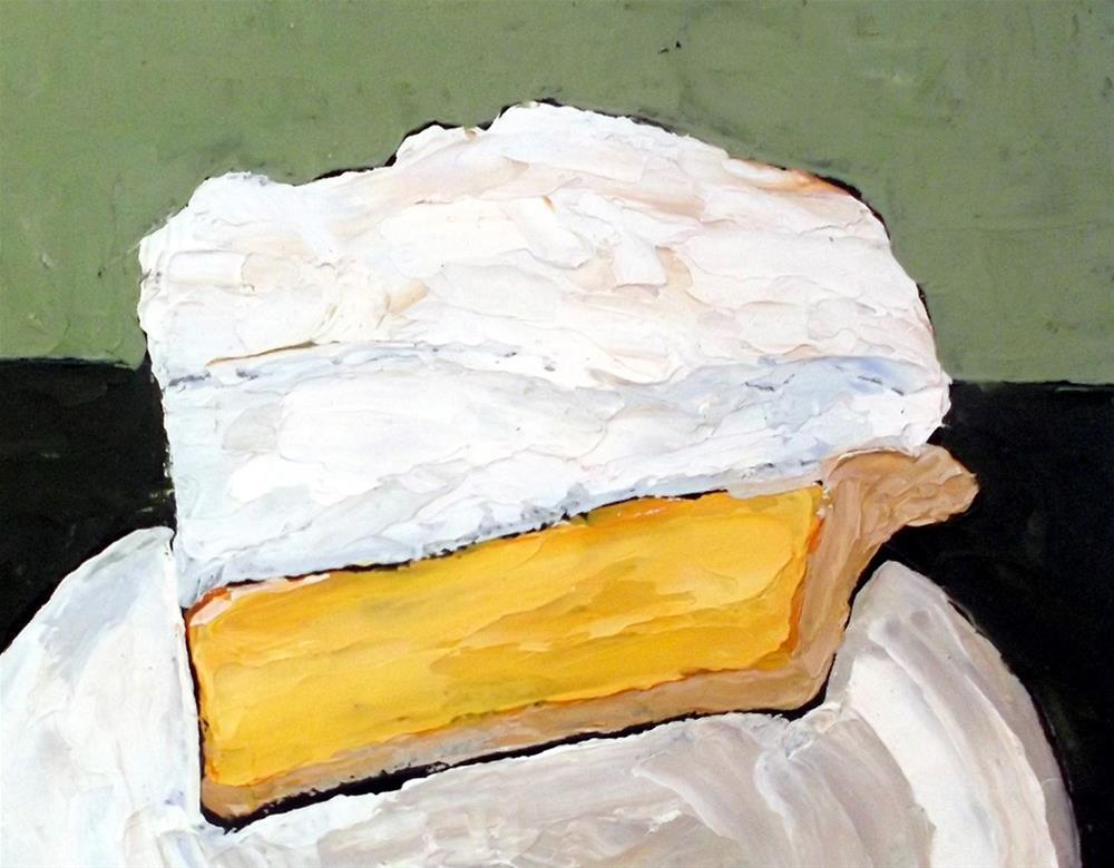 """Summer Picnic Pie"" original fine art by lynne french"