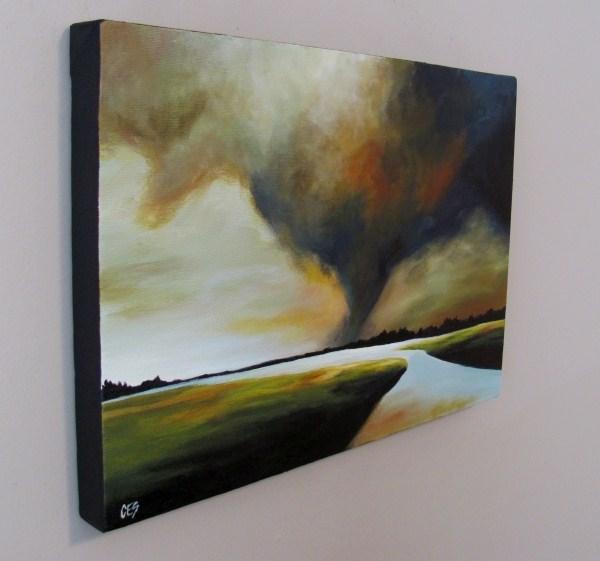 """Warning"" original fine art by ~ces~ Christine E. S. Code"