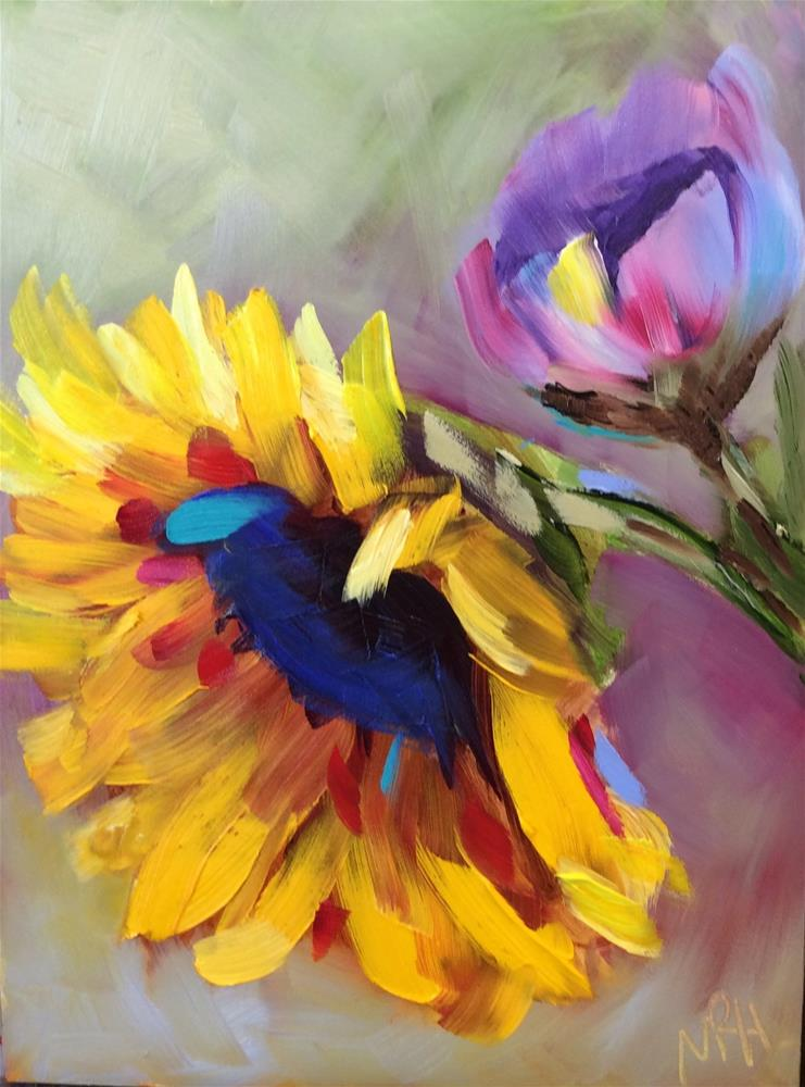 """You are My Sunshine"" original fine art by Molly Rohrscheib Hathaway"