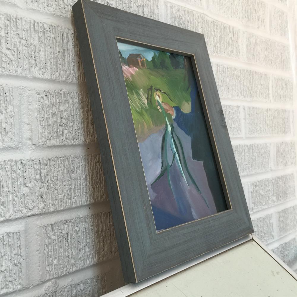 """Holding the Harvest"" original fine art by Jessie Dodington"
