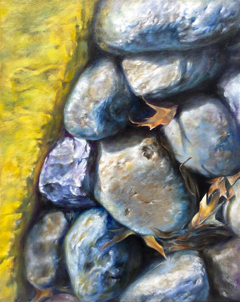 """Colors of the Fall"" original fine art by Shineh Kim Yoon"