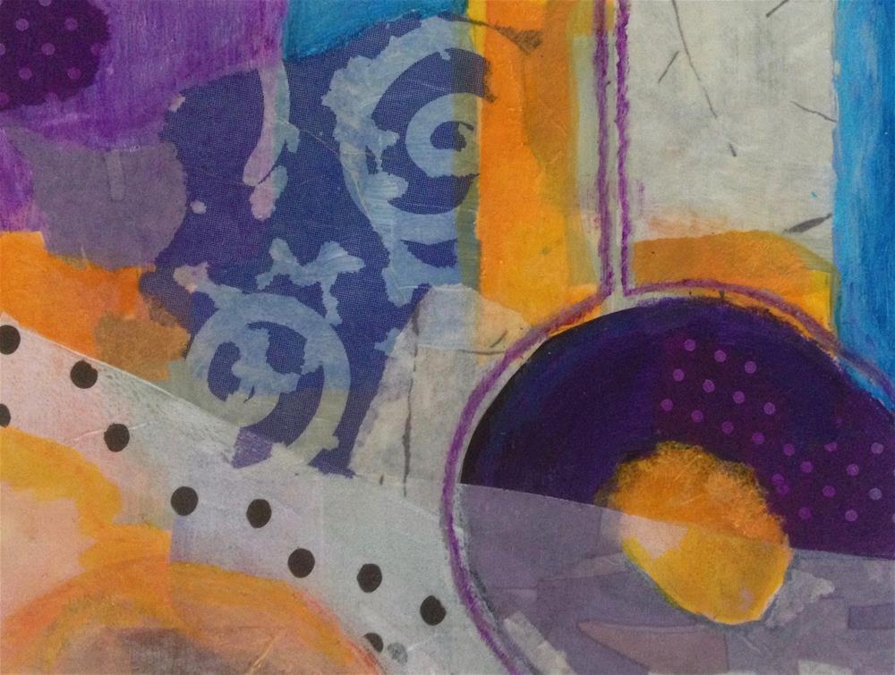 """Postcard 24, Postcard 25"" original fine art by Dotty  Seiter"