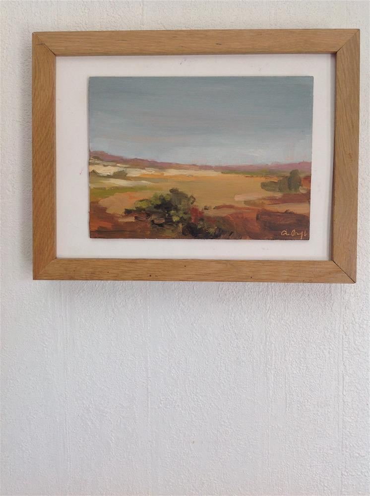 """From somewhere in spain"" original fine art by Christine Bayle"