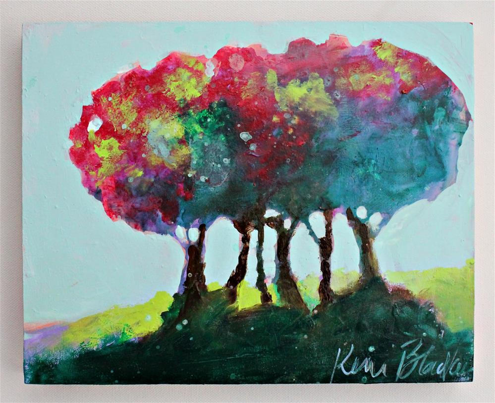 """Trees "" original fine art by Kerri Blackman"