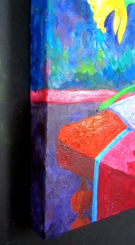 """Not-So-Still Life"" original fine art by Patricia Musgrave"