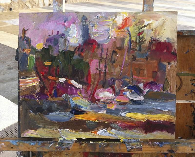 """At Dawn"" original fine art by Anna  Fine Art"