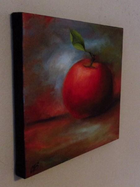 """""""An Apple For You"""" original fine art by ~ces~ Christine E. S. Code"""