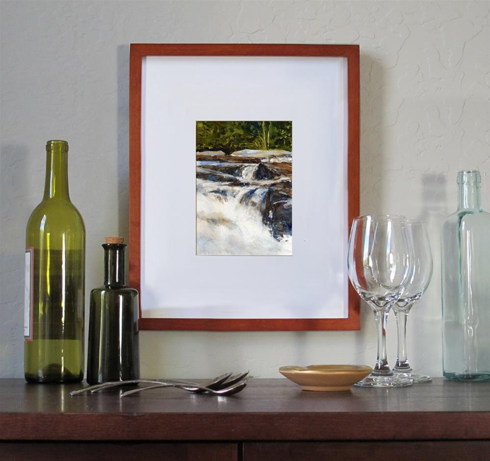 """Jackson Falls"" original fine art by Linda Henry"