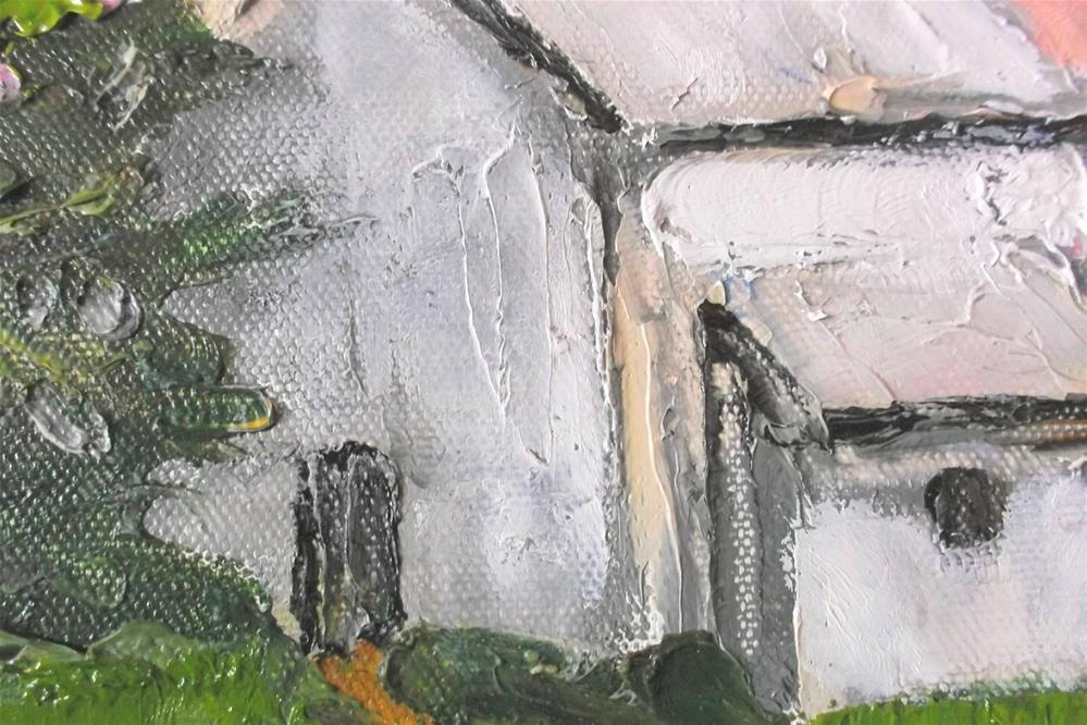 """Pescadero Barn"" original fine art by lynne french"