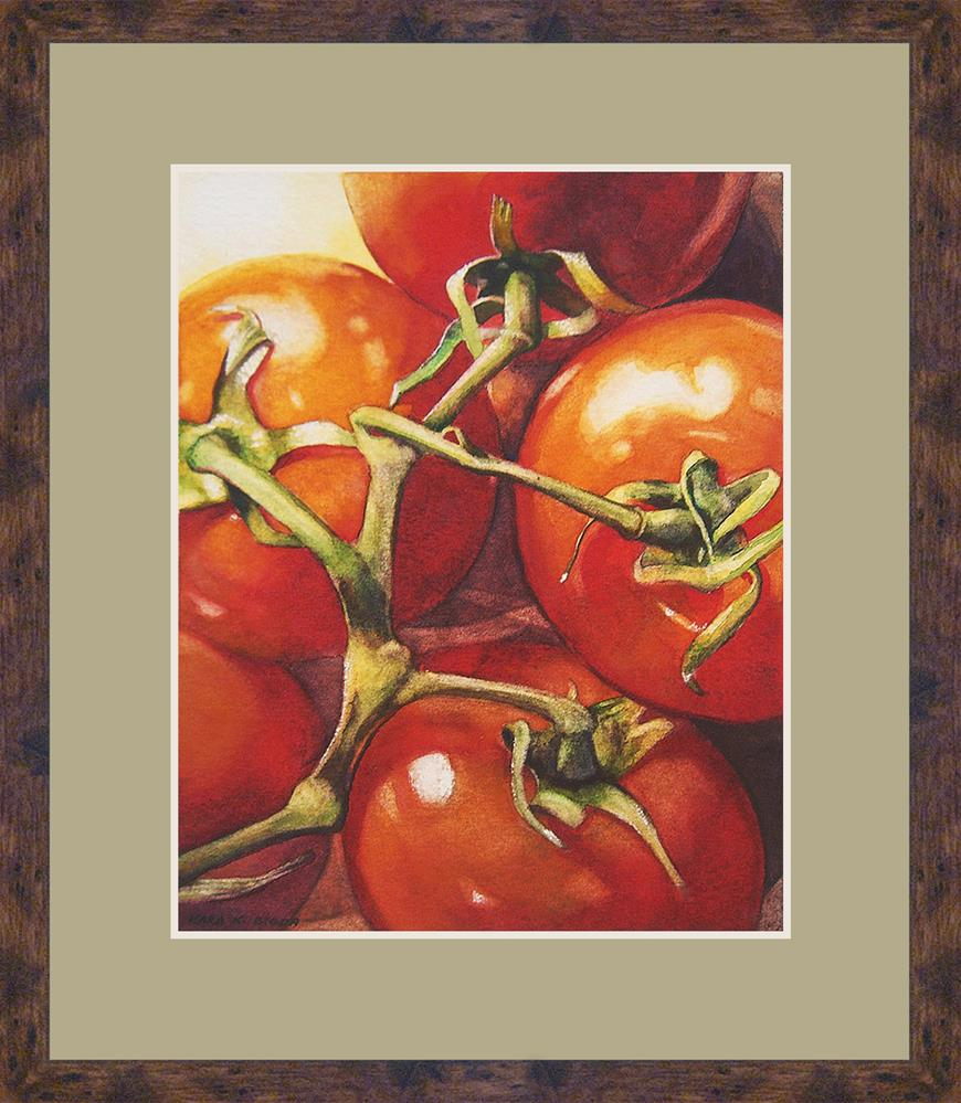 """On The Vine"" original fine art by Kara K. Bigda"