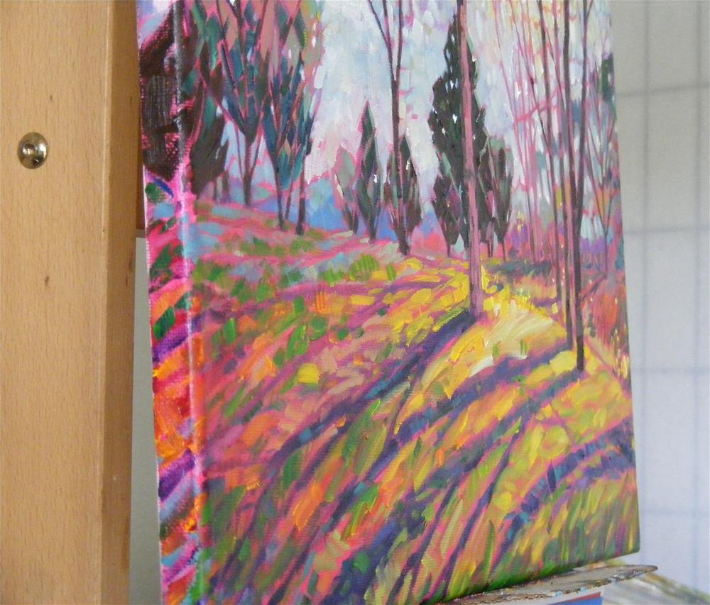 """Spring light"" original fine art by Celine K.  Yong"