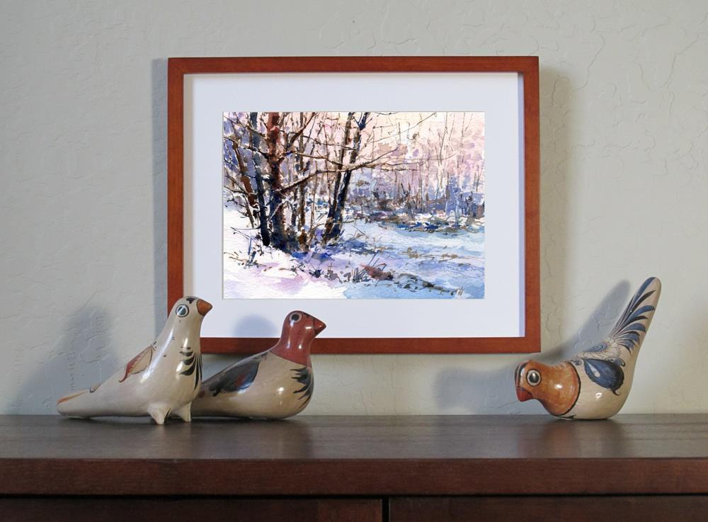 """Enchanted World"" original fine art by Linda Henry"